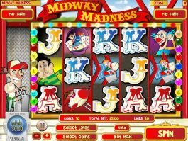 Spin free online slot Midway Madness
