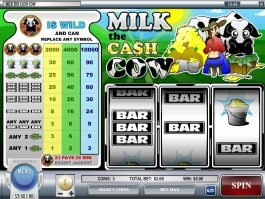 Free casino game Milk The Cash Cow