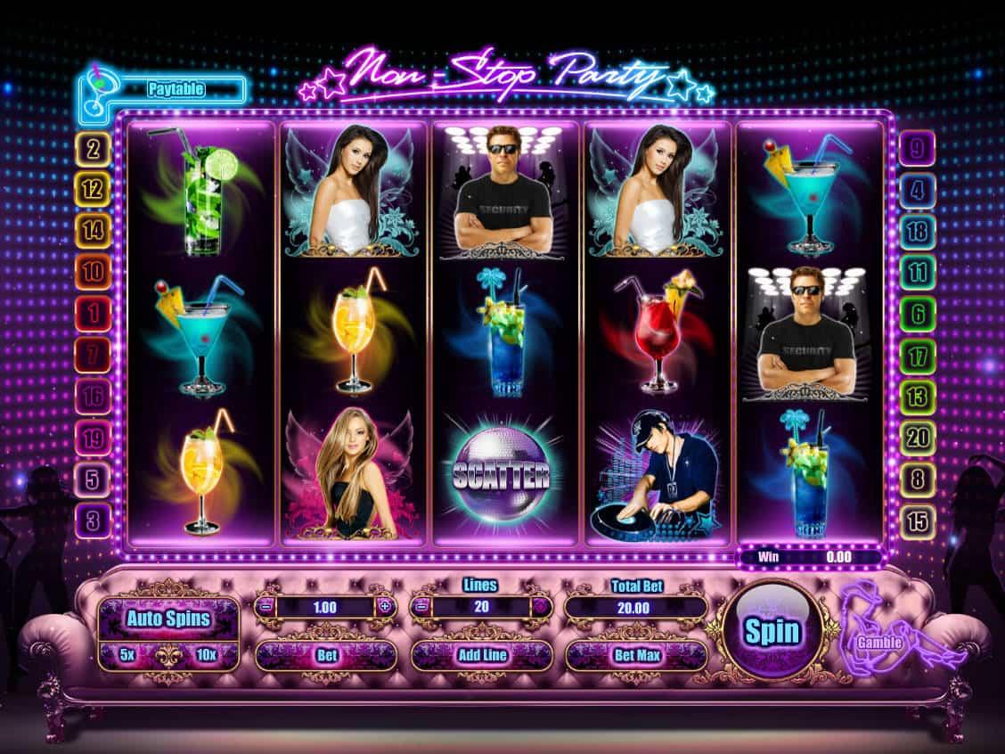 non stop casino bonus