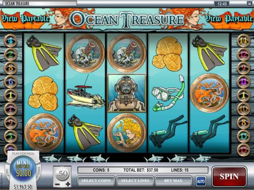 No registration game Ocean Treasure for free