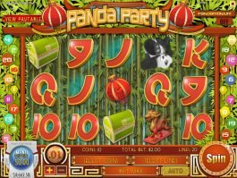 Panda Party slot by Rival Gaming