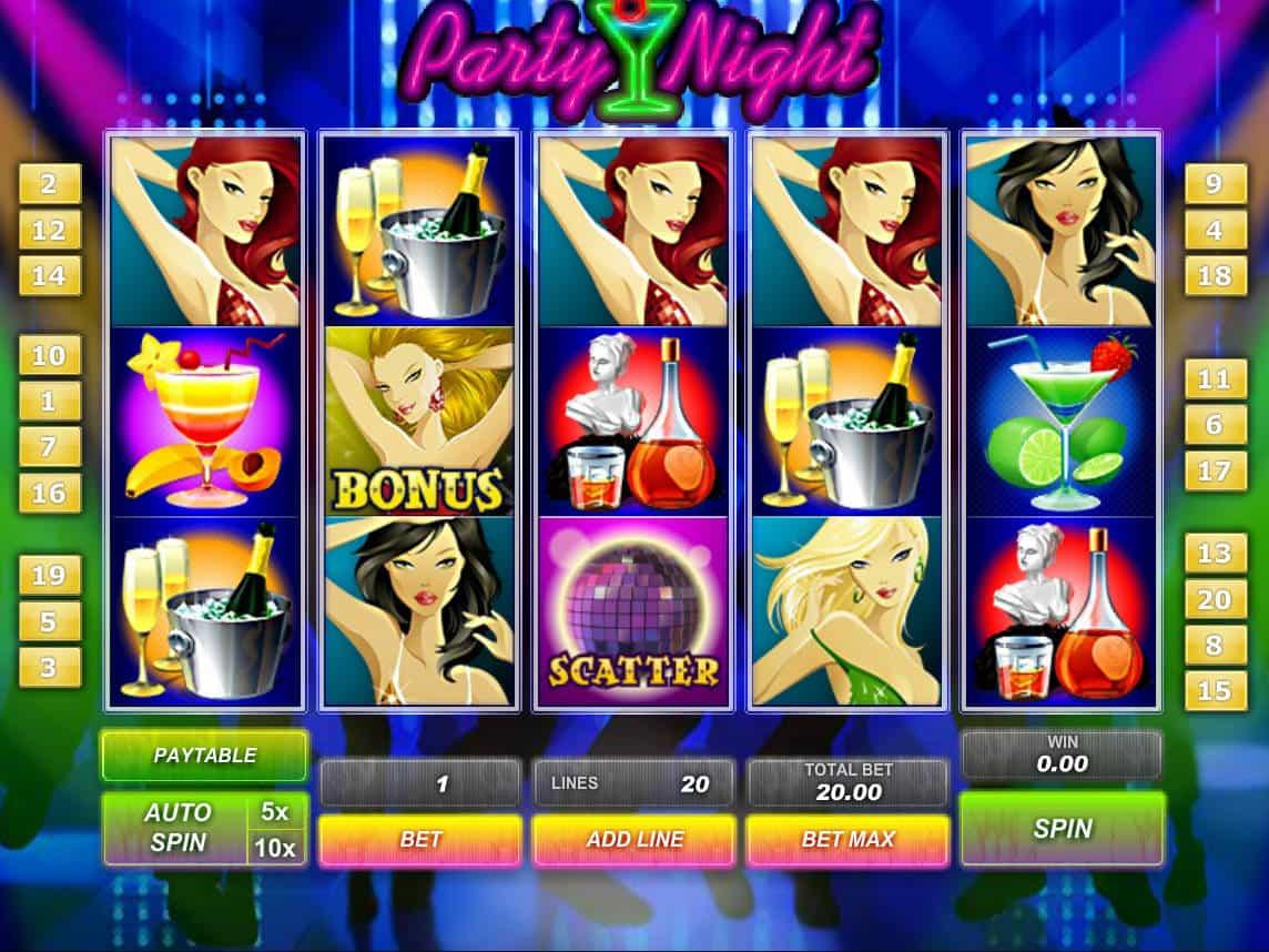 A Girls Night Out Slot Machine