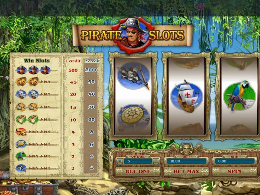 Free slot no deposit Pirate Slots