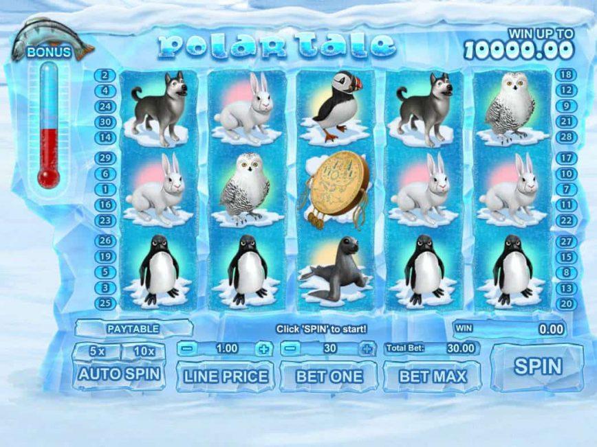Online slot machine for fun Polar Tale