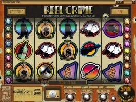Slot machine for fun Reel Crime: Bank Heist