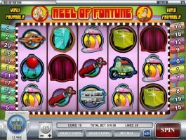 Play casino slot game Reel of Fortune