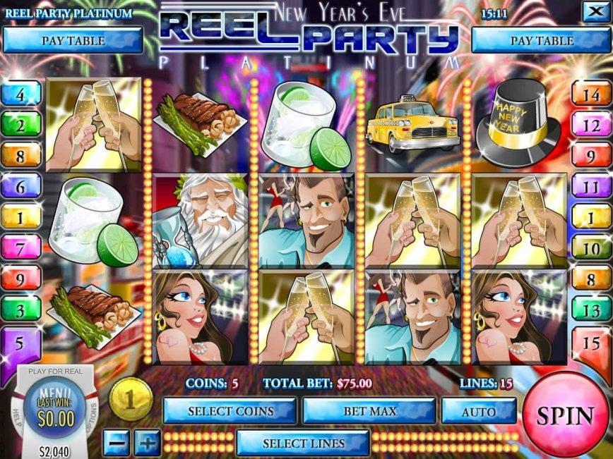 Picture of slot machine Reel Party Platinum