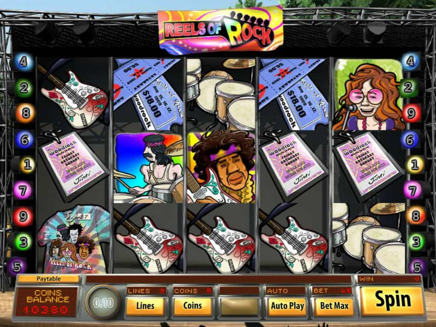 Spiele Reels Of Rock - Video Slots Online