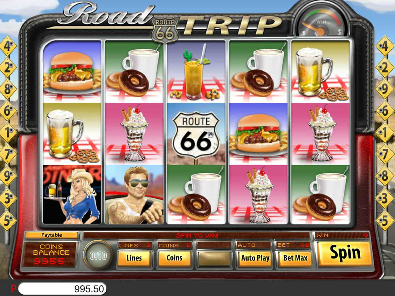 Aristocrat Road Trip Slot Machine