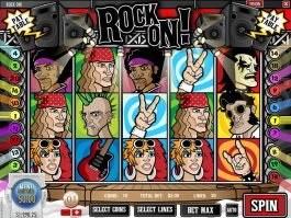Picture of casino online slot Rock On!