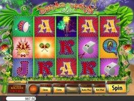 No deposit game Samba Spins online