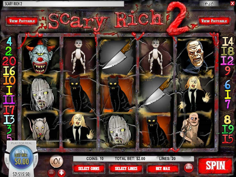 Reel Fear Slot Machine
