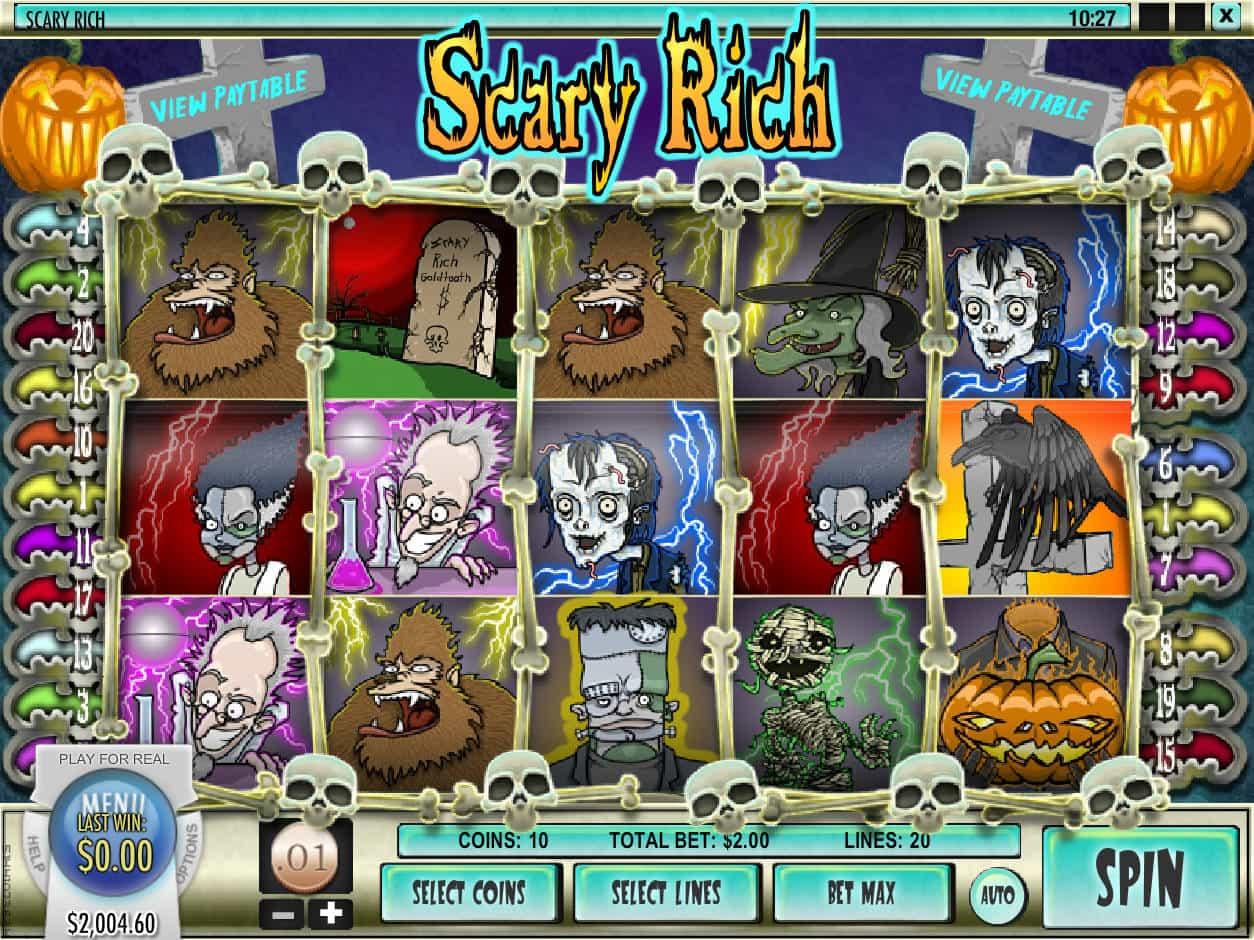 Spiele Scary Rich 3 - Video Slots Online