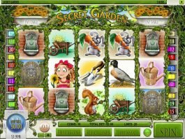 Spin free slot game Secret Garden