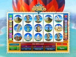 Picture from slot game Spin the World