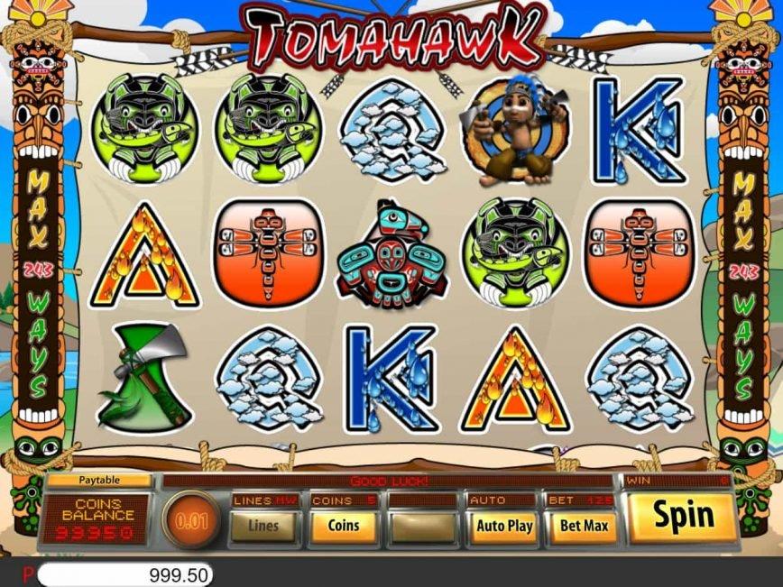 Free slot machine Tomahawk