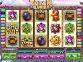 Online casino slot machine Totem Quest