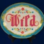 Wild symbol from online slot game Antique Riches