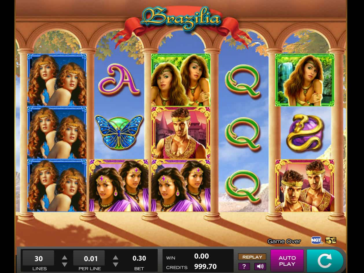 Brazilia Slot Machine.Given summer Olympics the are nearly here, and they are being hosted at Rio in Brazil, you might be forgiven for thinking this was going to be another in a series of endless new Brazil flavoured slot games this summer.Actually, this is not the case, I thought it would be a great time to revisit one of my favourite High 5 Games slot machines, the Brazilia slot.