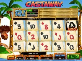 Spin free online slot Castaway
