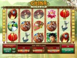 Play slot game China MegaWild for fun