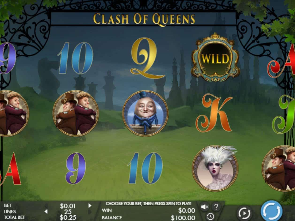 Clash Of Queens Slot Machine