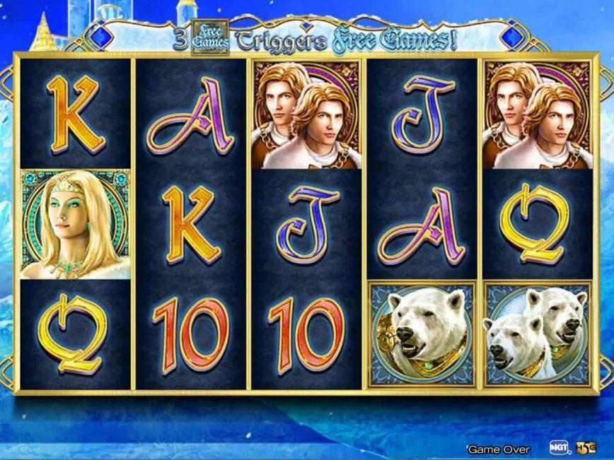 Slot machine Crystal Kingdom no deposit