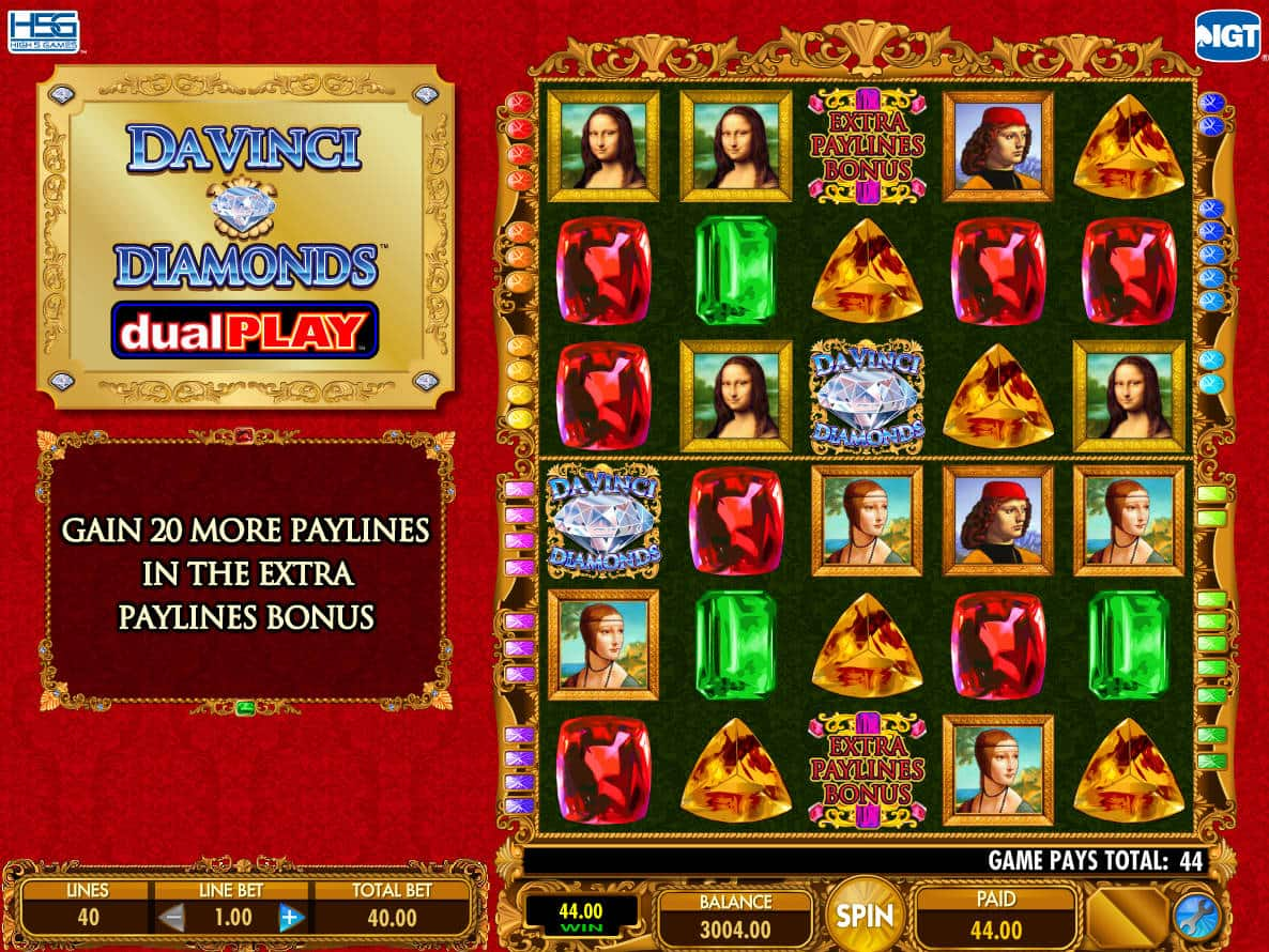 Play Davinci Diamonds Online Free