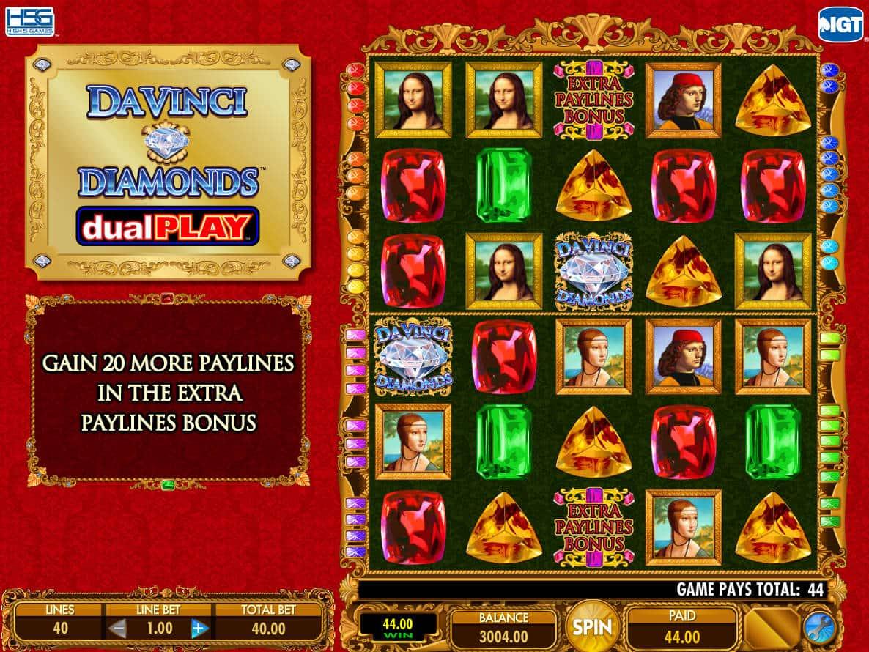 da vinci diamonds slots free download
