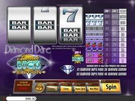 Online slot game Diamond Dare Bonus Bucks
