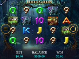 Dinosaur Adventure online slot by Genesis Gaming