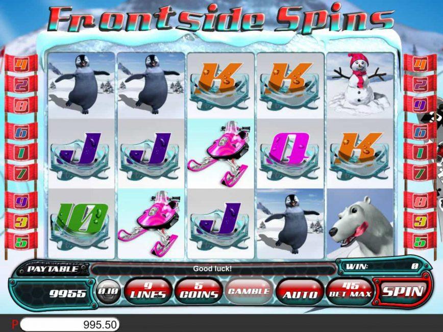 Online free slot Frontside Spins no deposit