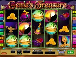 Picture of online casino game Genie's Treasure