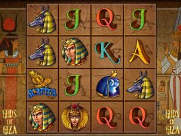 Casino free game Gods of Giza
