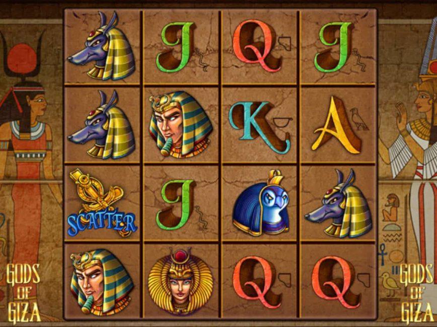 Casino free game Gods of Giza