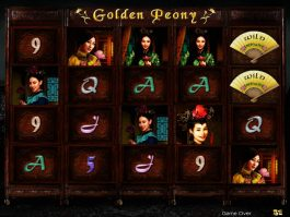 Spin free casino game Golden Peony