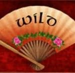 Special wild symbol from casino free game Golden Peony