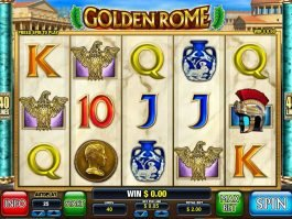 Free casino game Golden Rome no deposit