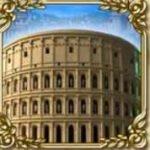 Golden Rome slot game - scatter symbol