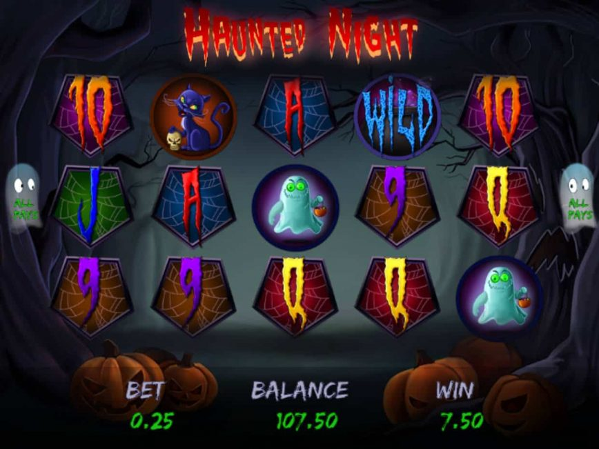 Online free slot Haunted Night