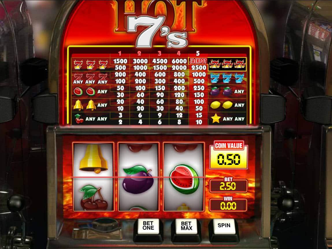 Free Slot Hot Seven