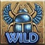 Wild symbol from online slot Khepri the Eternal God