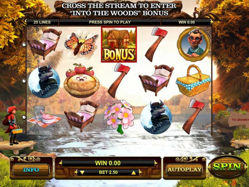 Slot machine for fun Little Red online