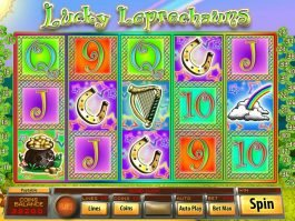 No deposit game Lucky Leprechauns online