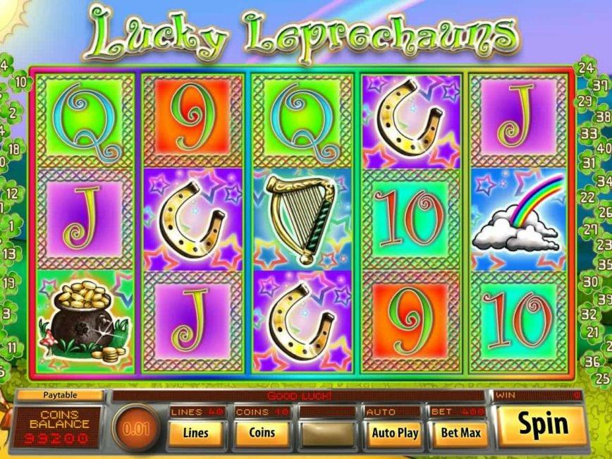 No deposit game Lucky Leprechauns online