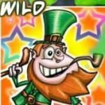Wild symbol from casino game Lucky Leprechauns online
