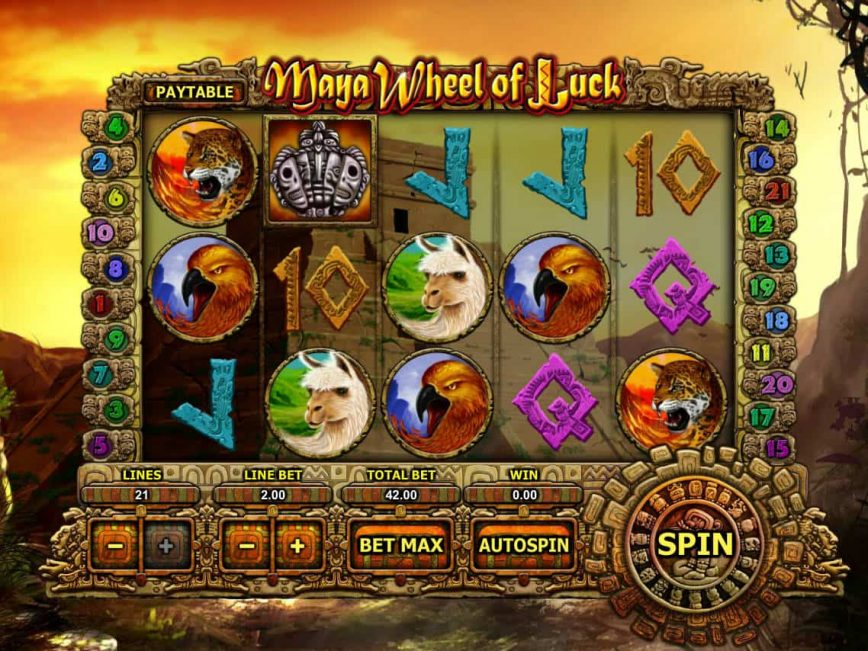 Maya Wheel of Luck online slot