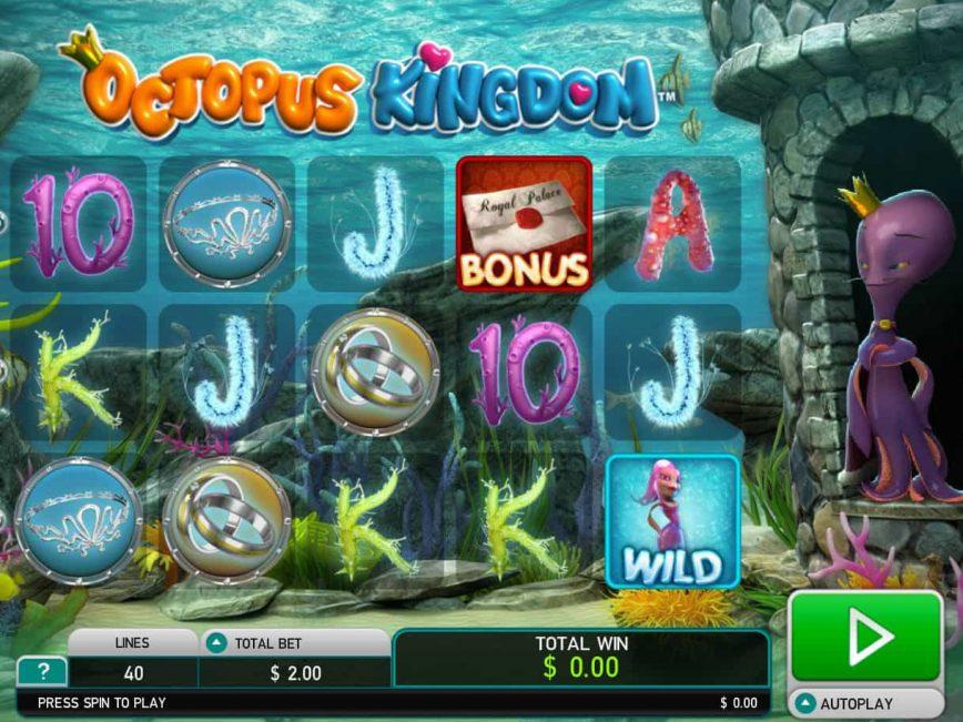 Slot machine for fun Octopus Kingdom