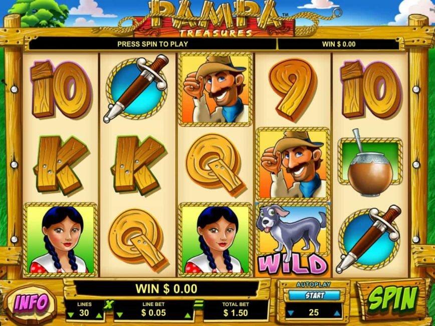 Free casino game Pampa Treasures