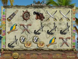 Free casino game Pieces of Eight